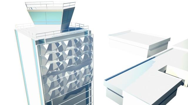 Folding facade Folding facade